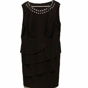 Laura plus women's sleeveless black dress size 20